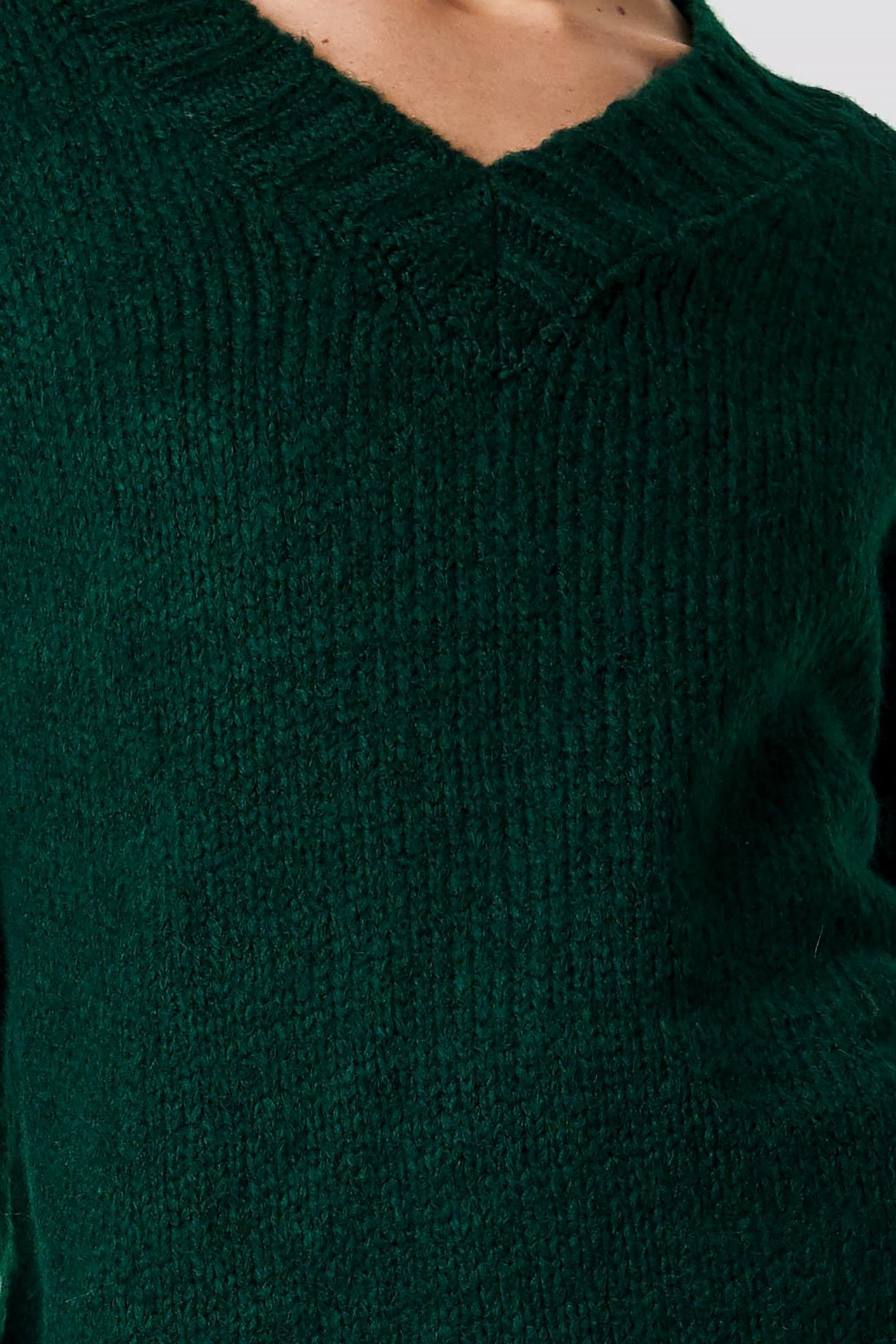 V-Neck Knitted Pullover NA-KD.COM
