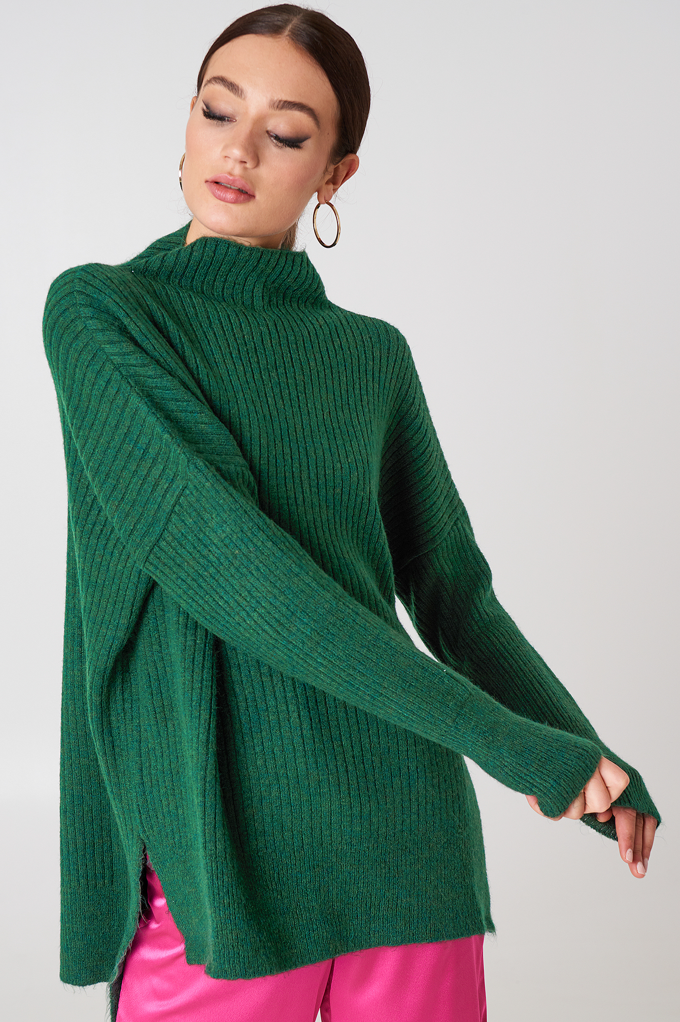 Vertical Collar Sweater NA-KD.COM