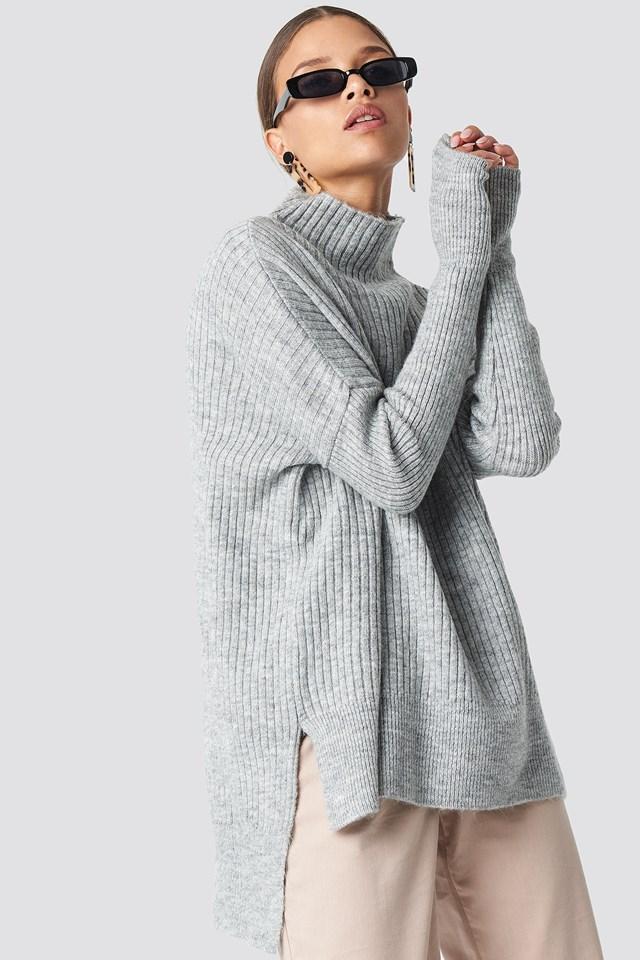 Vertical Collar Sweater NA-KD.COM
