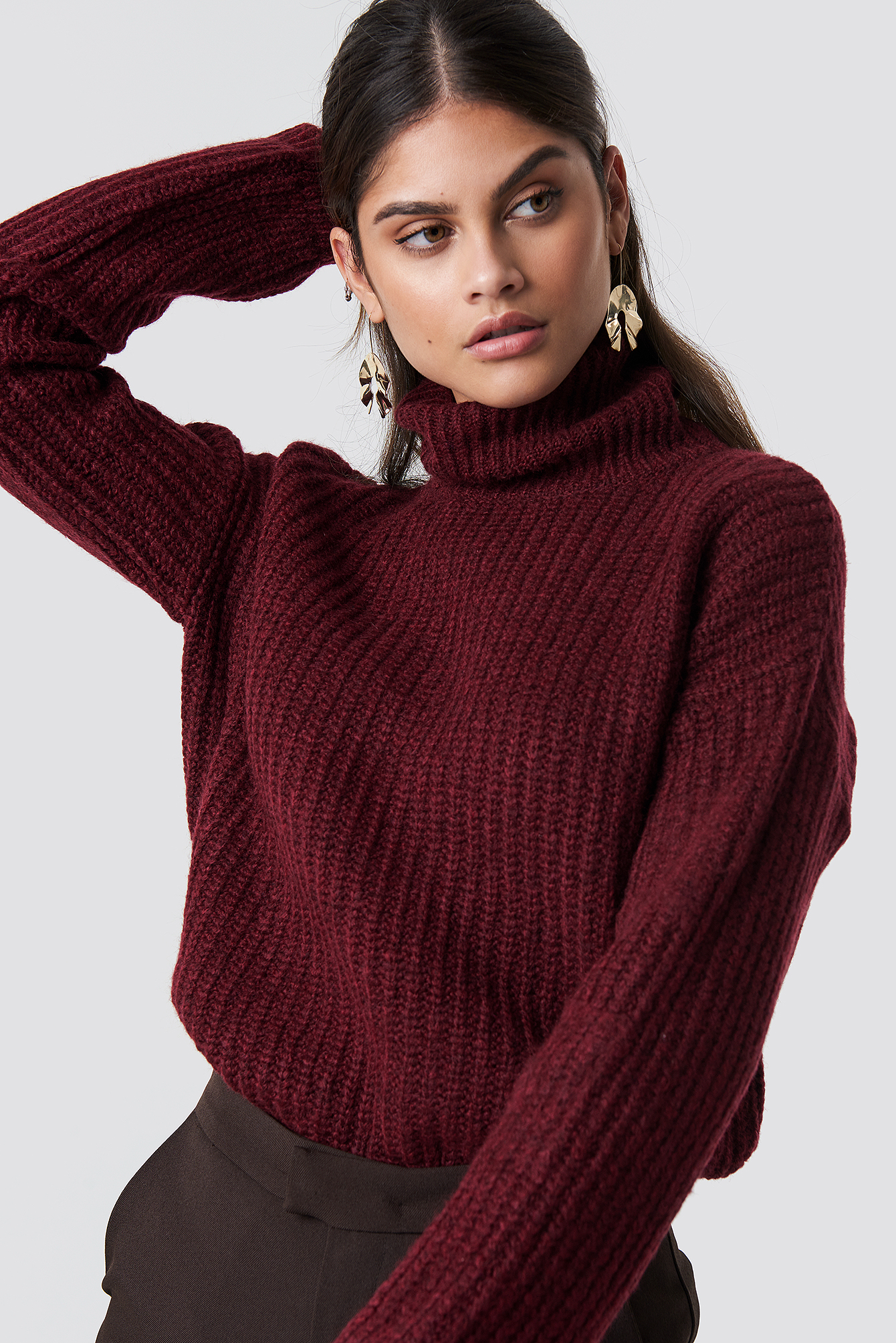 Vizon Turtle Neck Jumper NA-KD.COM