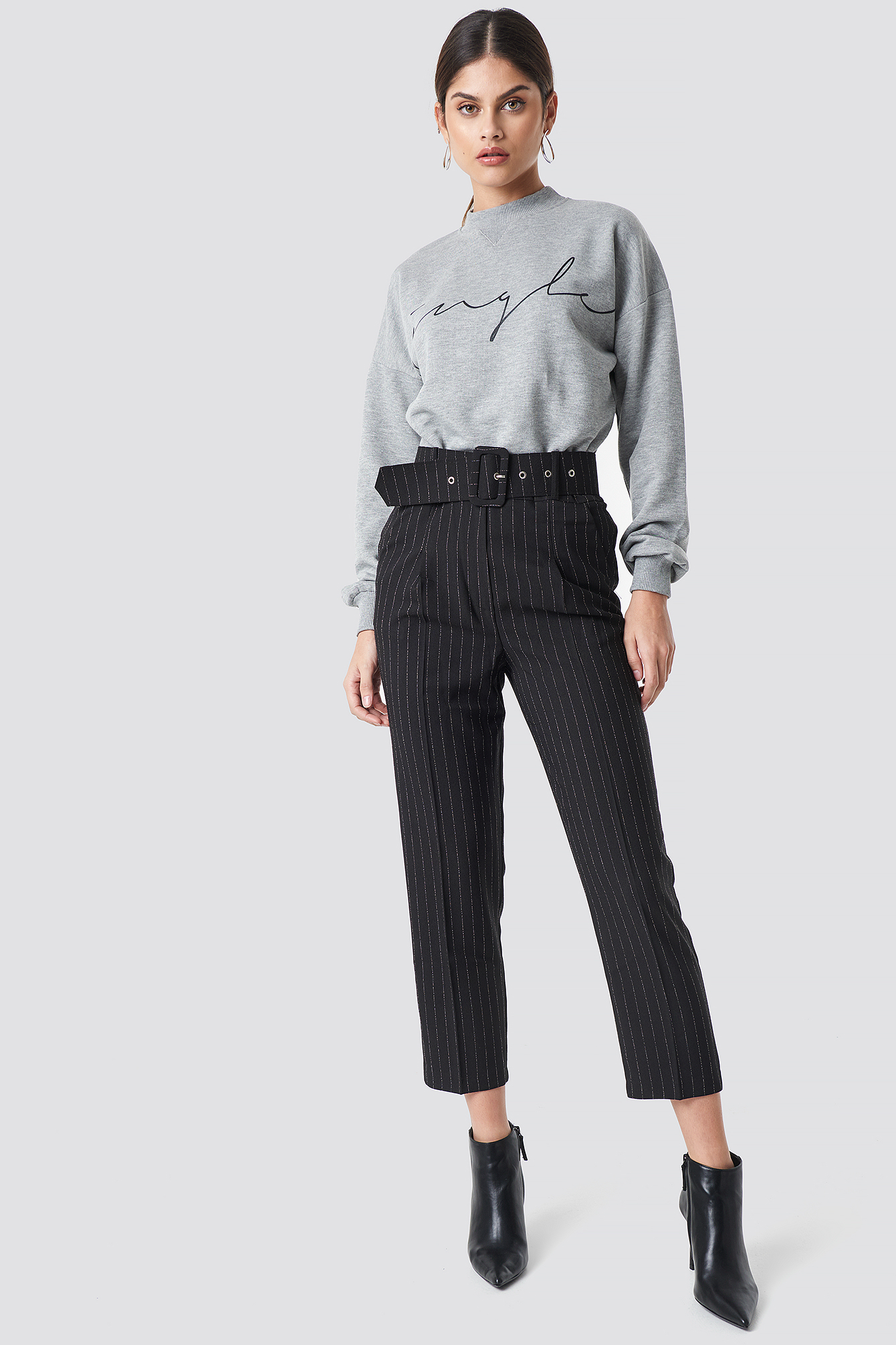 Waistband Detailed Pants NA-KD.COM