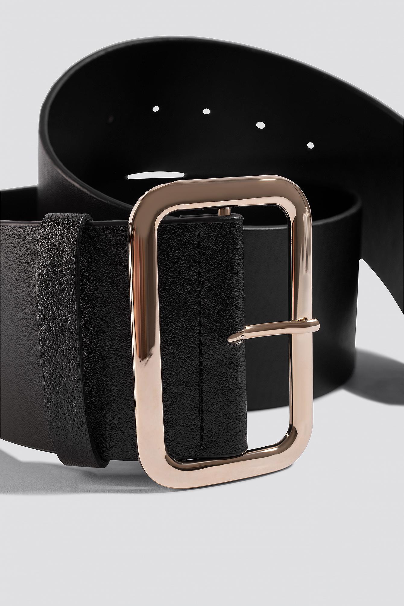 Wide PU Belt NA-KD.COM