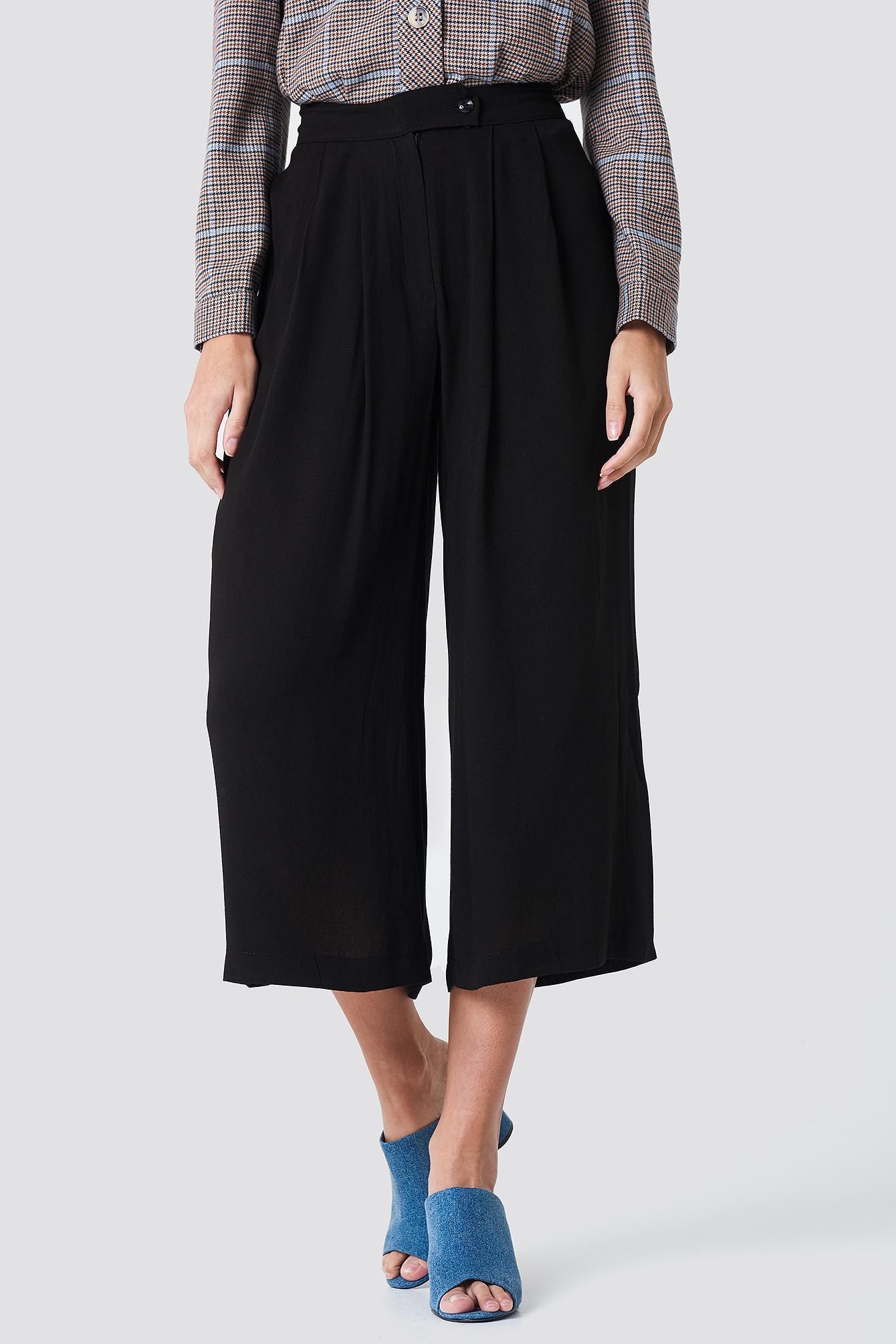 Szerokie spodnie rybaczki NA-KD.COM