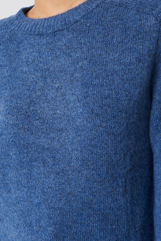 Wide Sleeve Detail Sweater Pullover NA-KD.COM