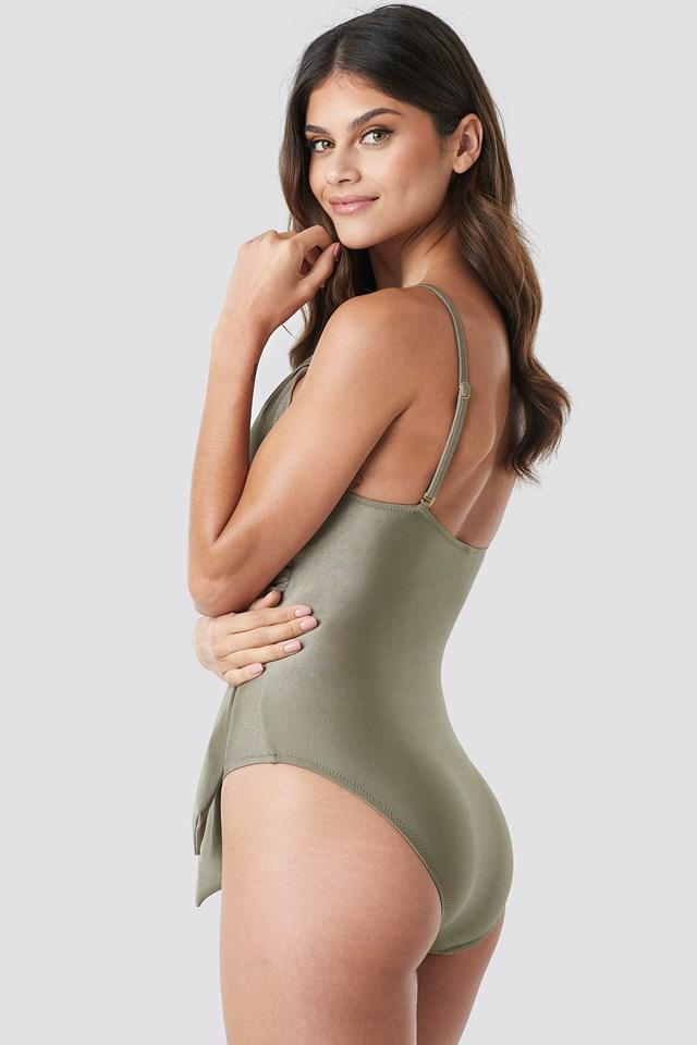 Wrap Around Swimsuit NA-KD.COM
