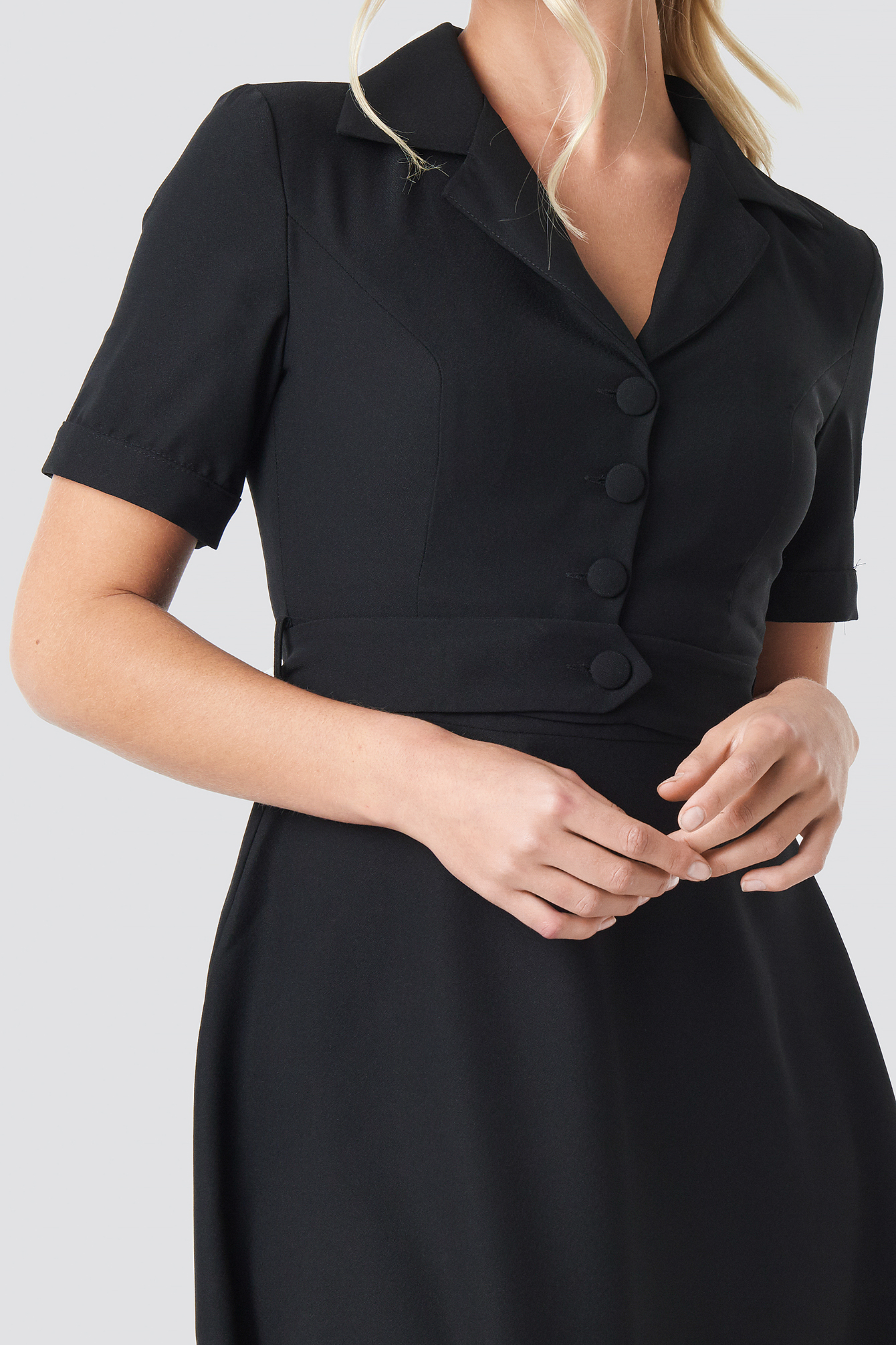 Yol Belt Detailed Dress NA-KD.COM