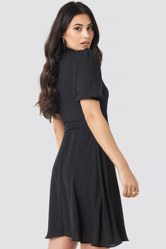 Yol Belt Dress Black