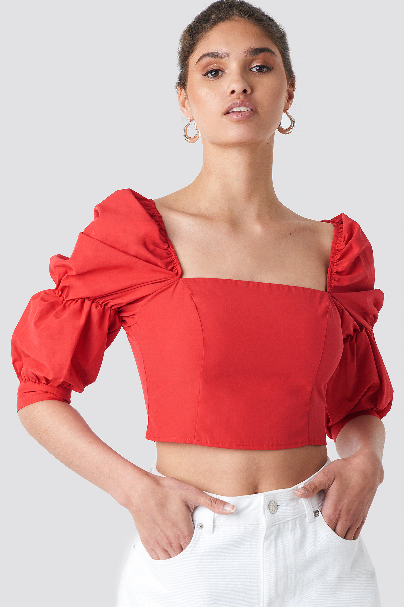Yol Cropped Top NA-KD.COM