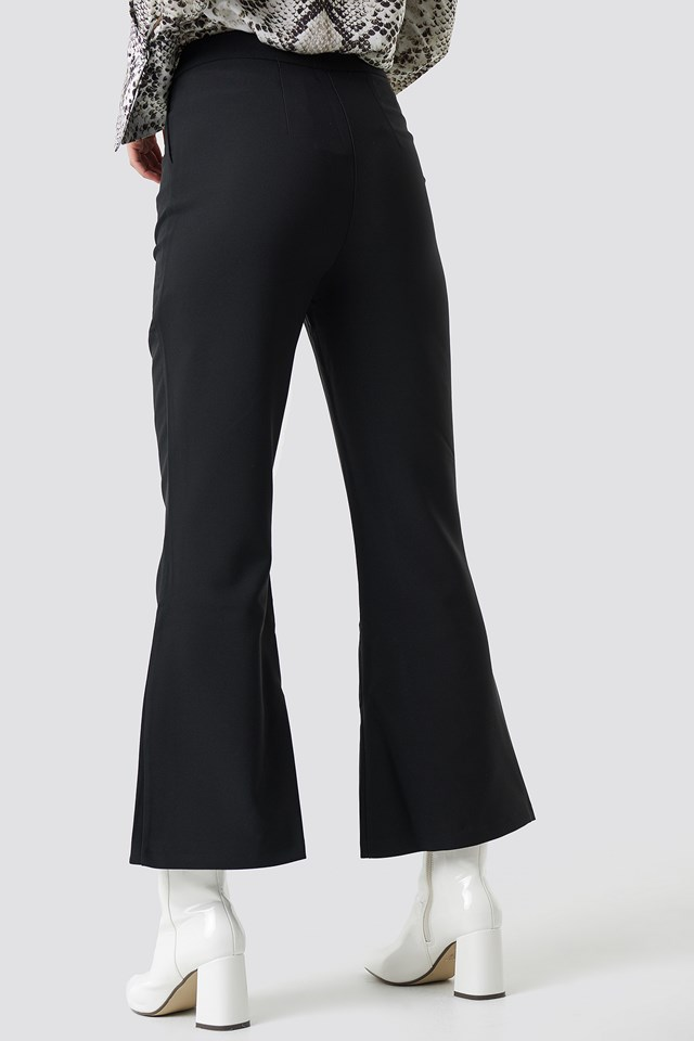Yol Culotte Pants Black