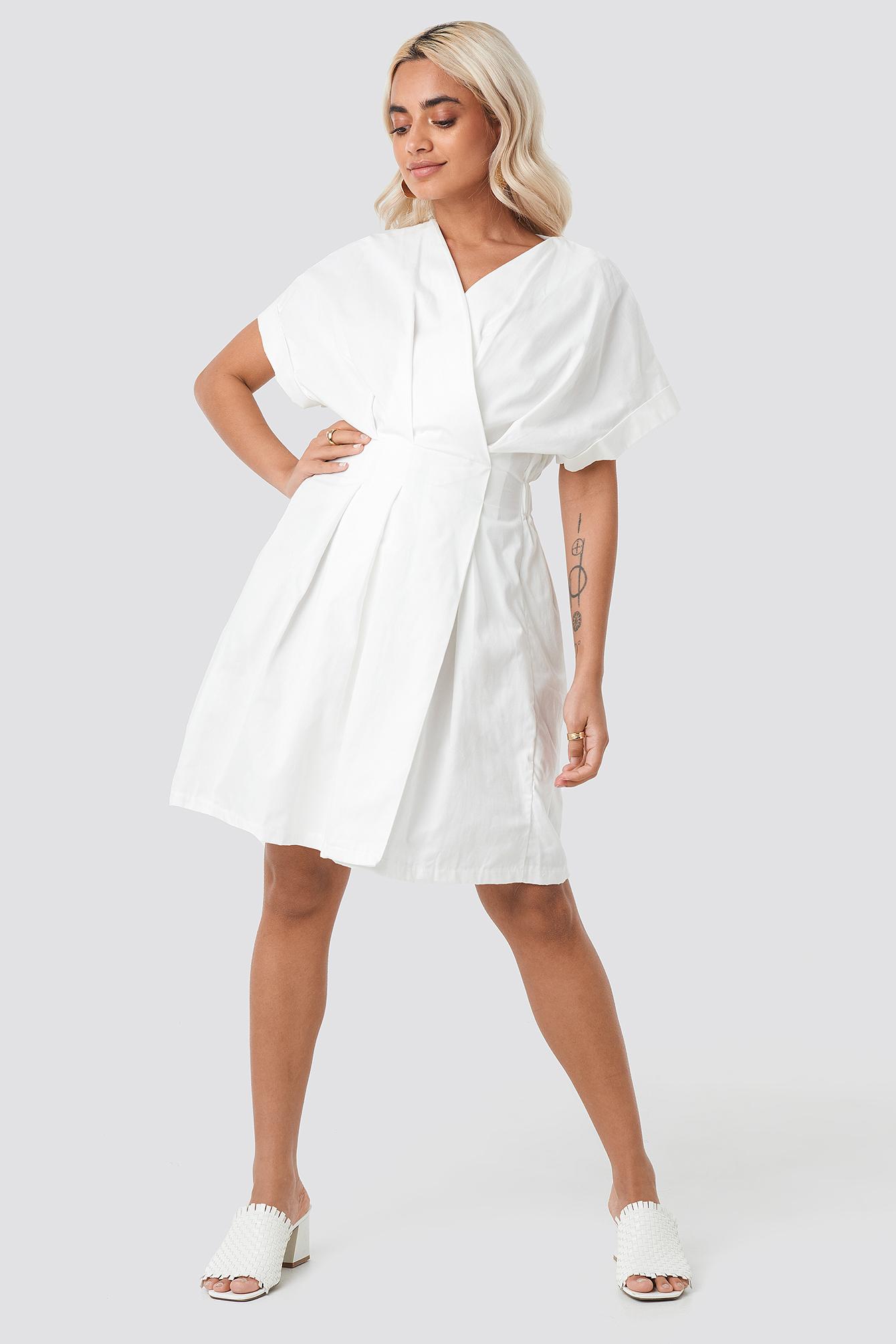 Yol Double Breasted Dress NA-KD.COM