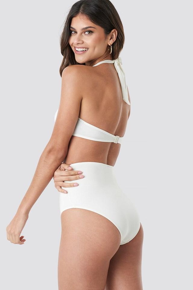 Yol High Wasit Bikini Bottom Ecru