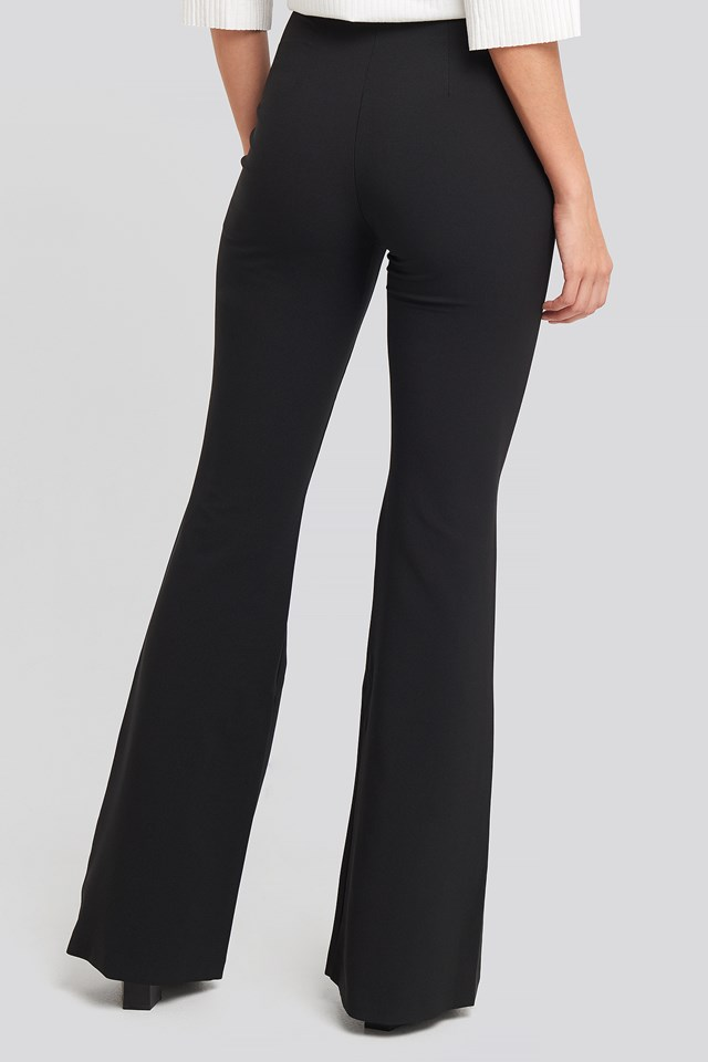 Yol High Waist Pants Black