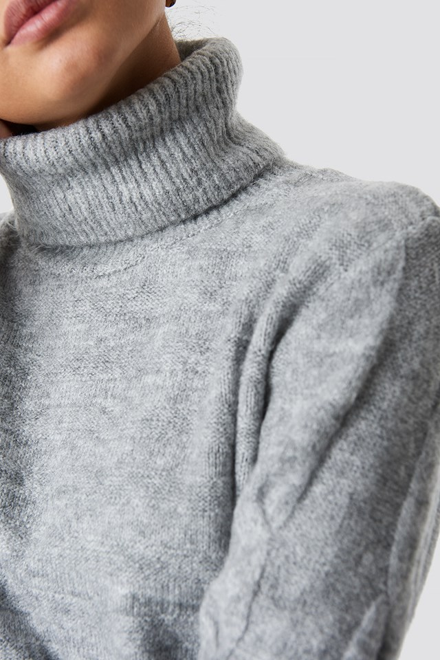 Yol Knitted Polo Jumper NA-KD.COM