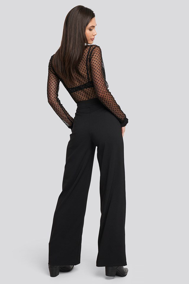 Yol Loose Fit Trousers Black
