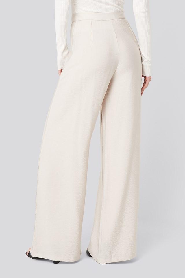 Yol Loose Trousers Beige