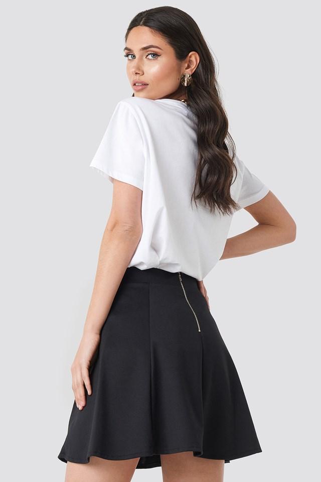 Yol Mini Skirt Black