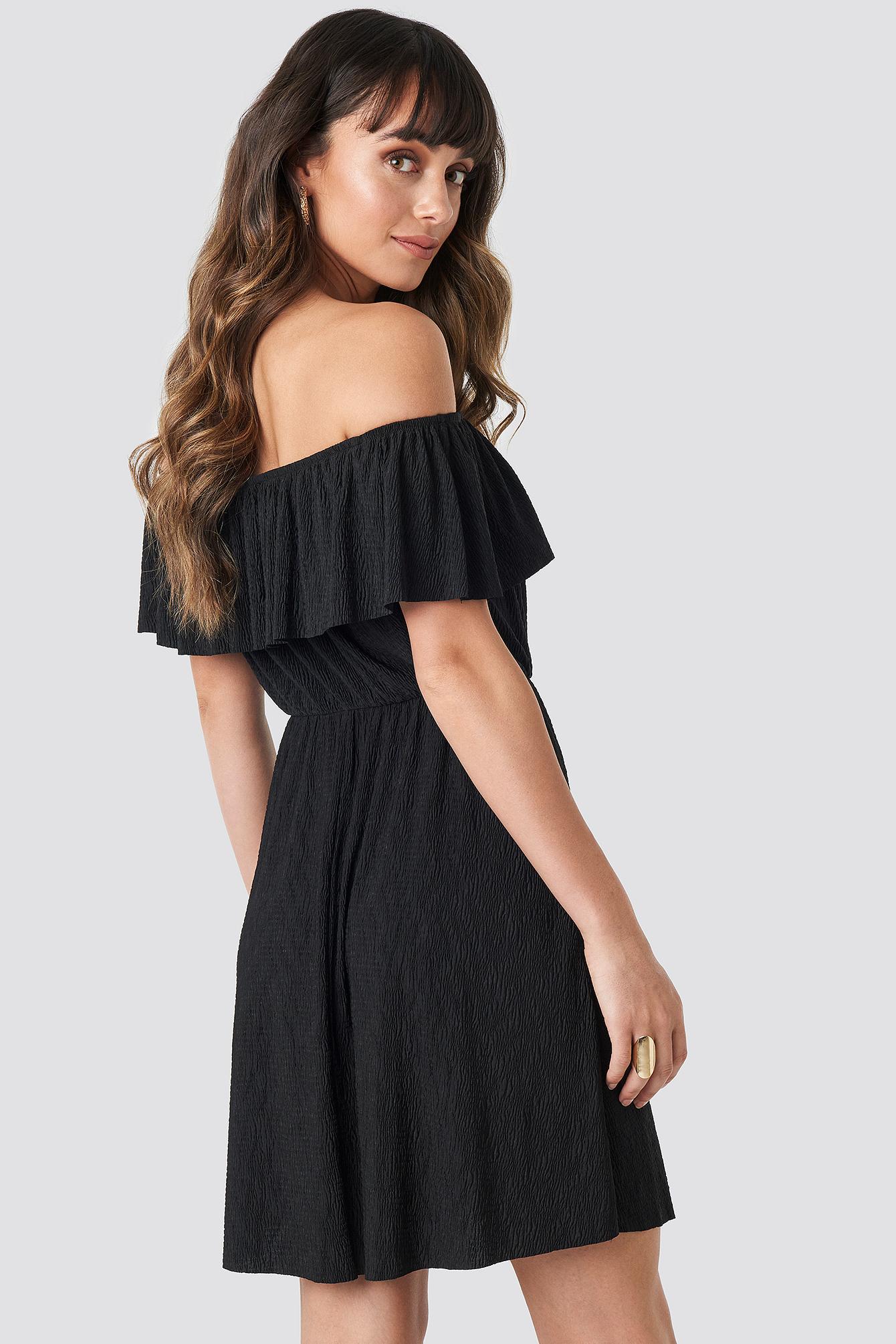 Yol Offshoulder Mini Dress NA-KD.COM