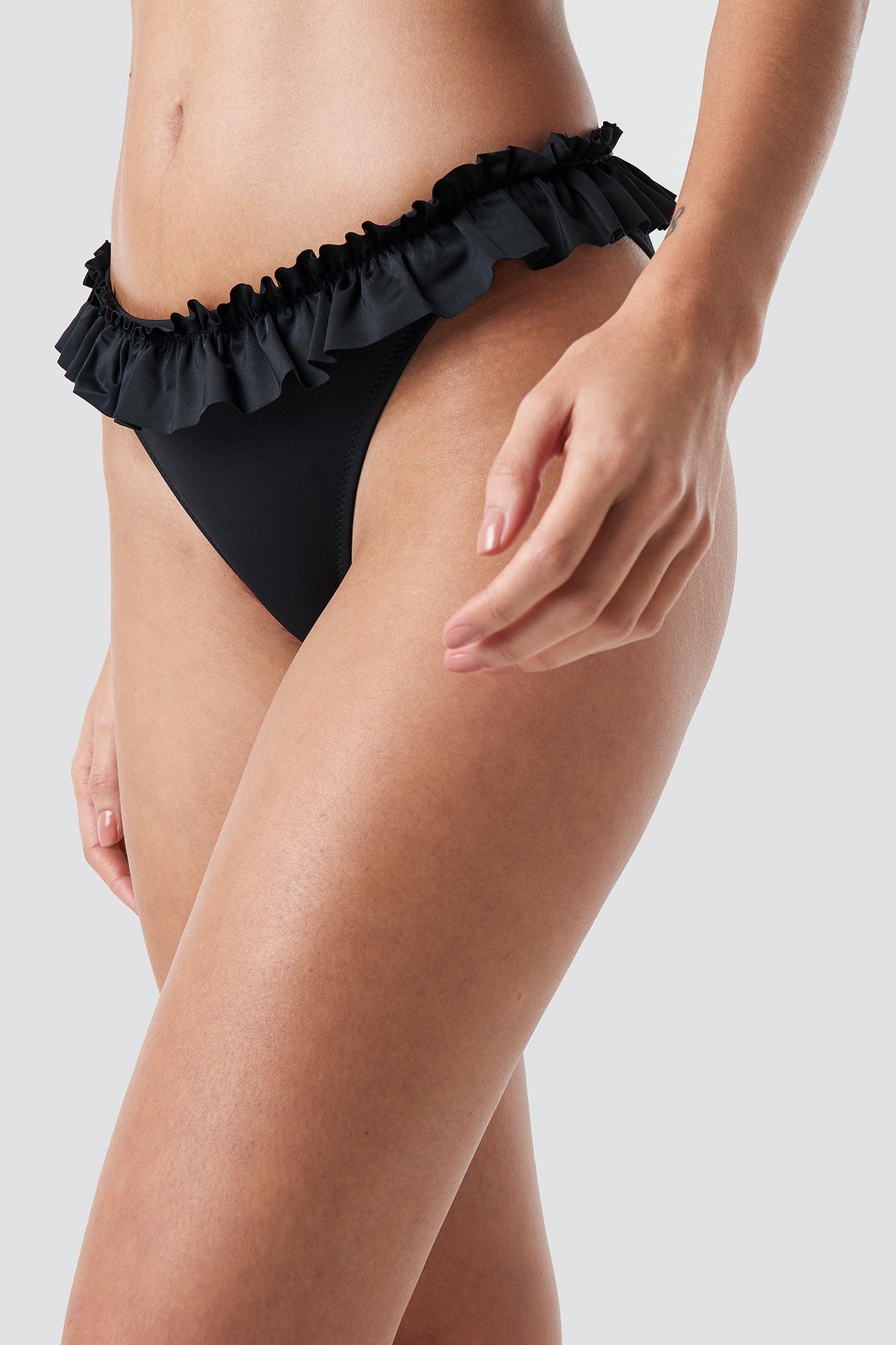 Yol Ruffle Detailed Bikini Bottom NA-KD.COM