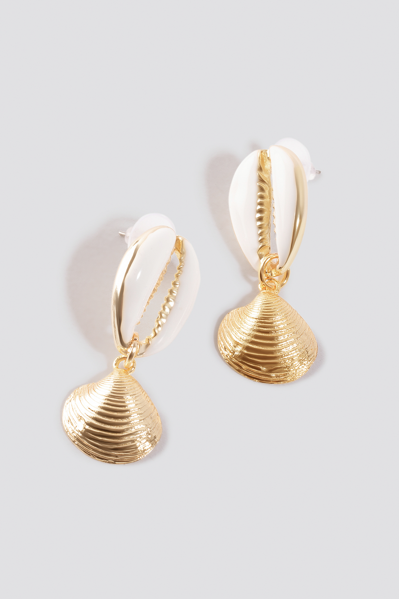 Yol Shell Earrings NA-KD.COM