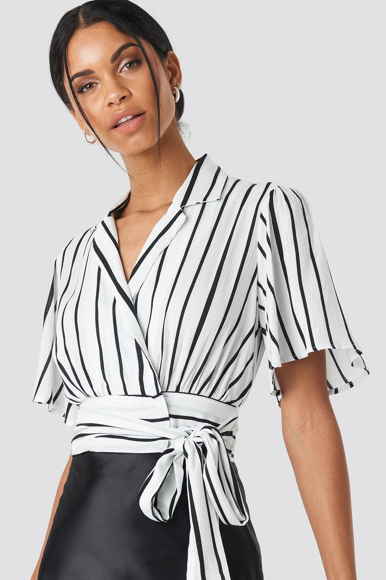 Yol Striped Blouse NA-KD.COM