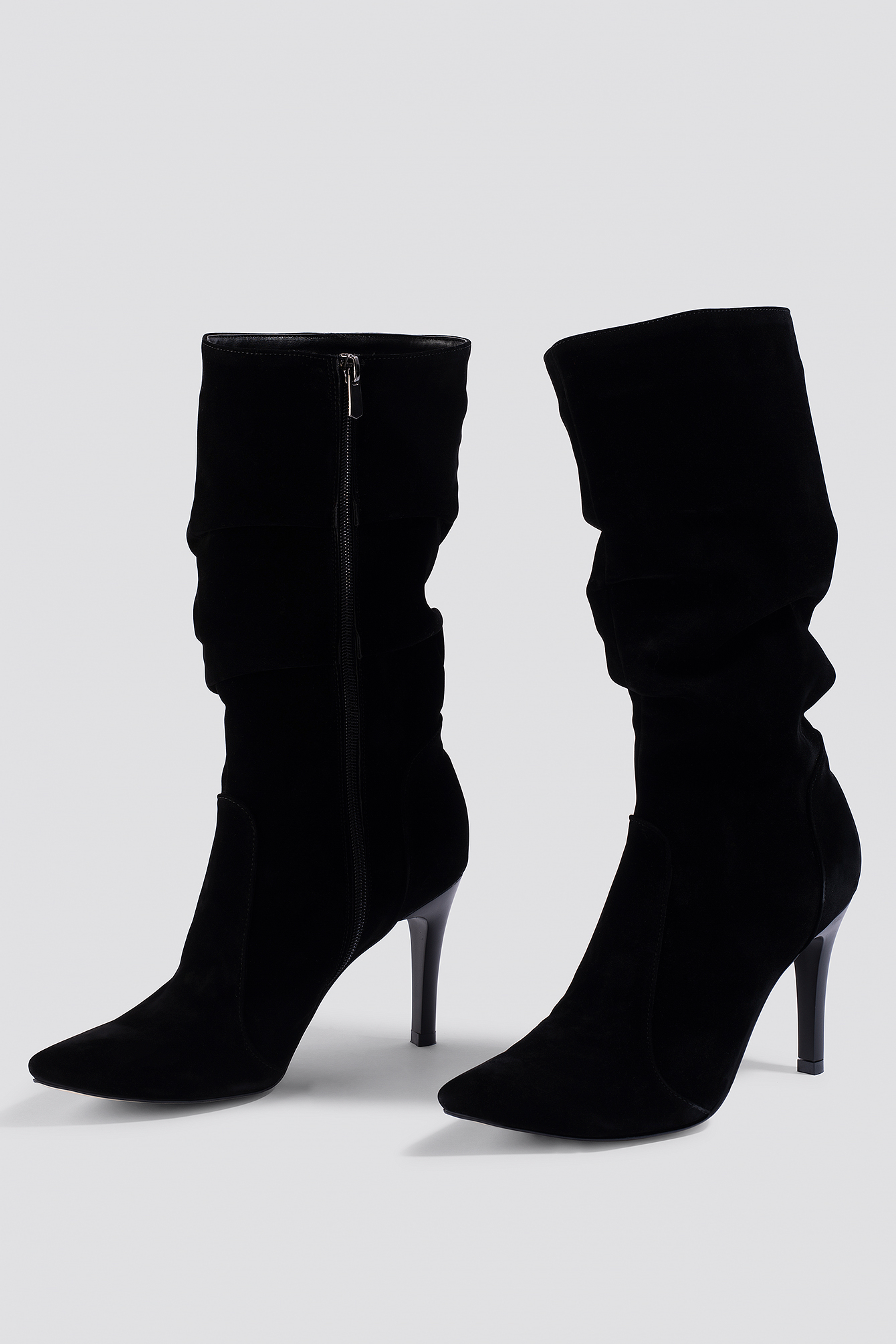 Zipper Detailed Boots NA-KD.COM
