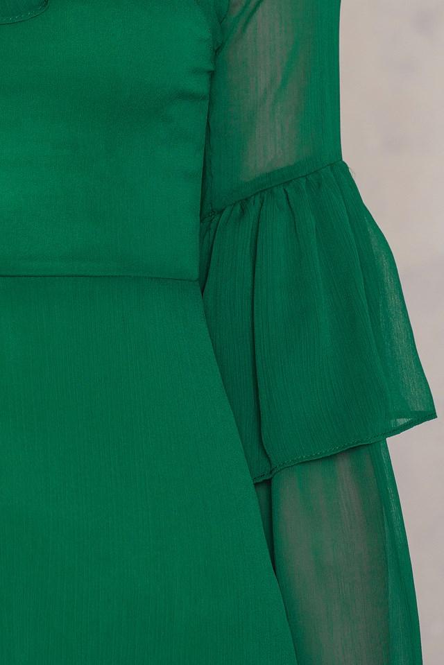Zumrut Yesili Dress Emerald Green