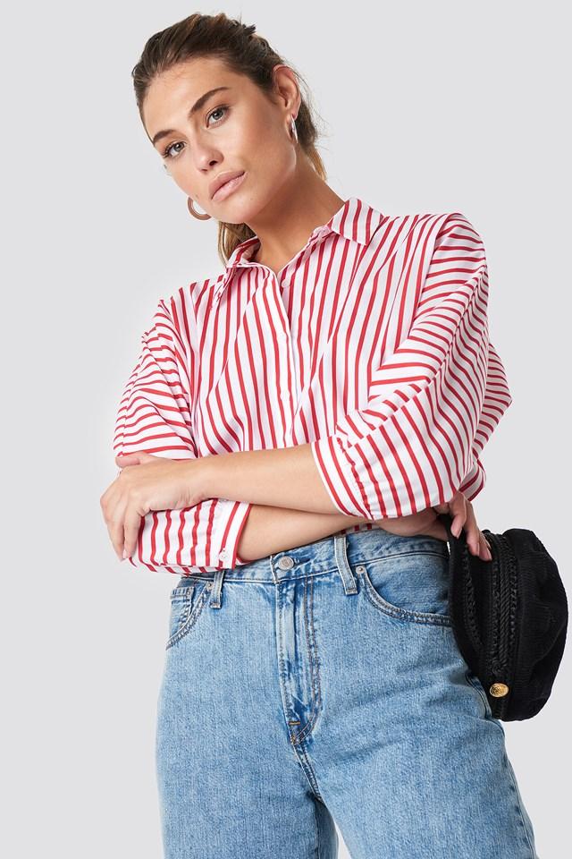 Koszula w paski Trendyol