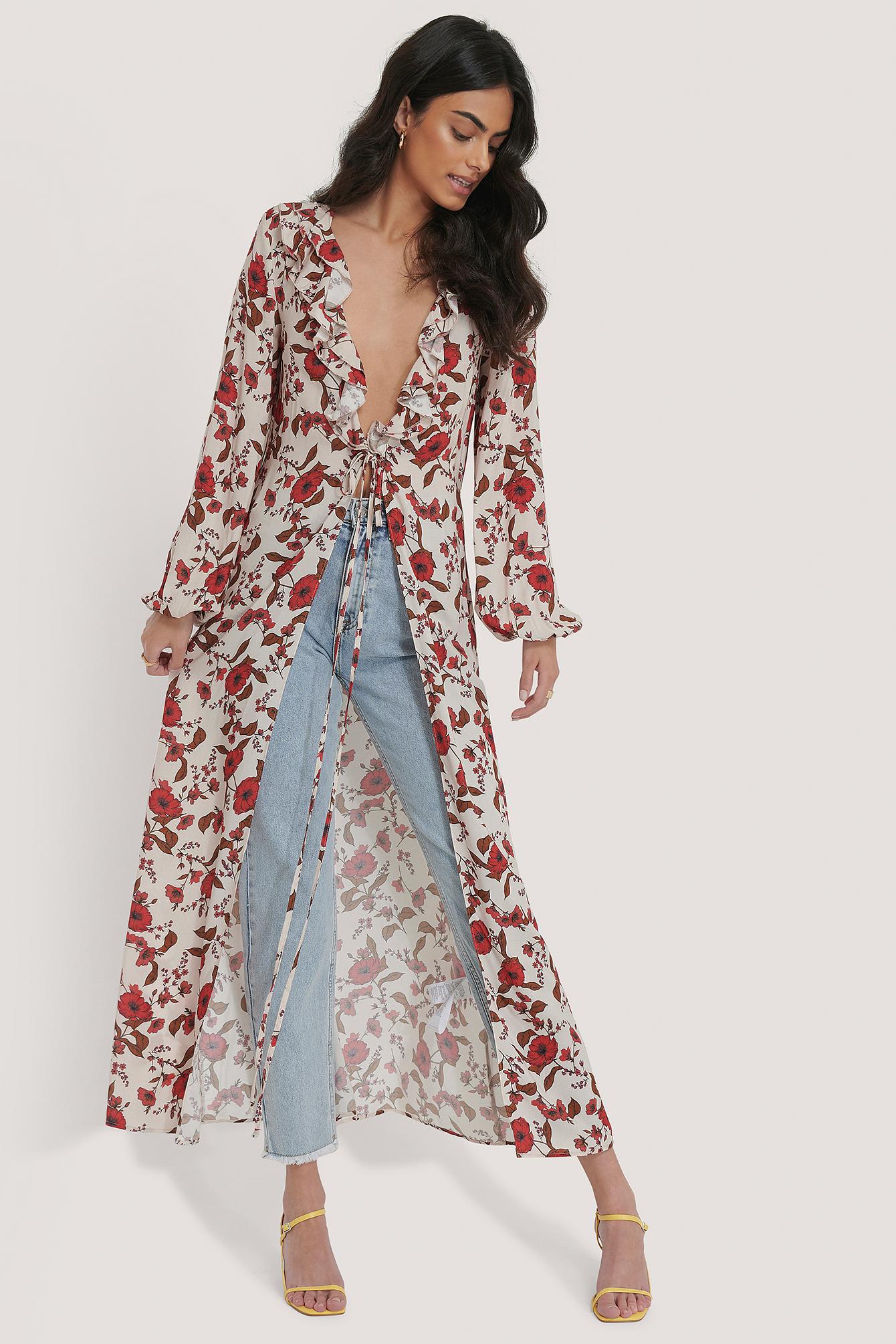 Trendyol Kimono - Multicolor   Bekleidung > Homewear > Kimonos   Trendyol