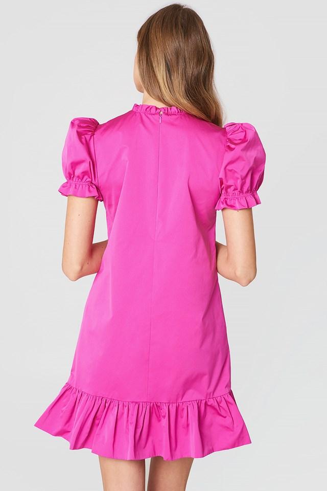 Abito Fuxia Mini Dress Fuxia