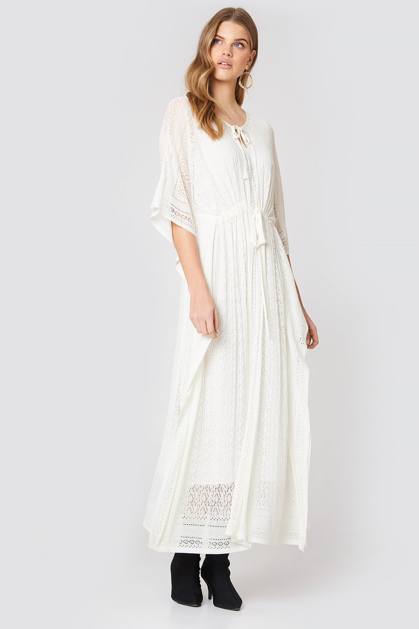 Abito Madreperla Lungo Maxi Dress NA-KD.COM
