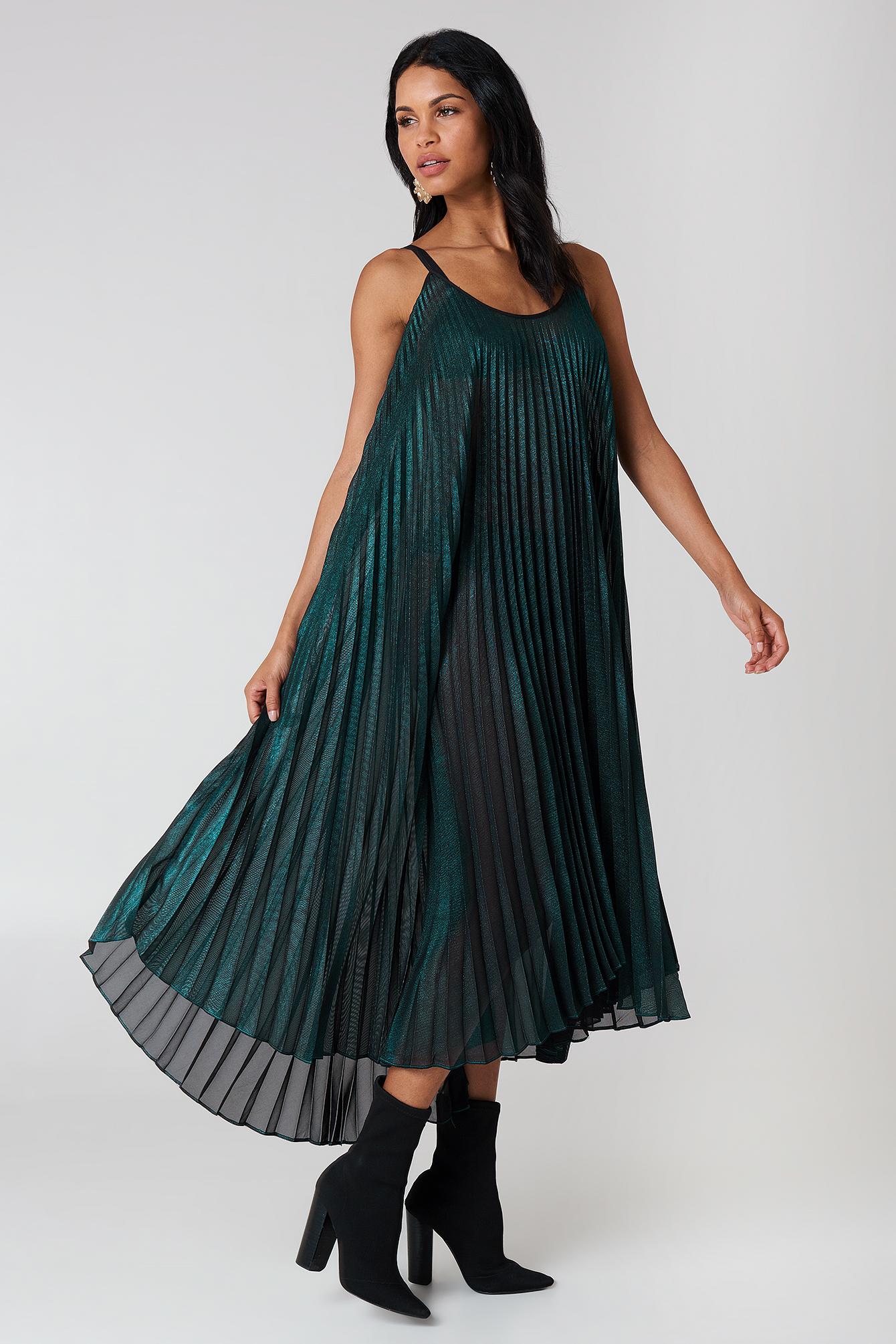 ABITO TESSUTO DRESS - GREEN