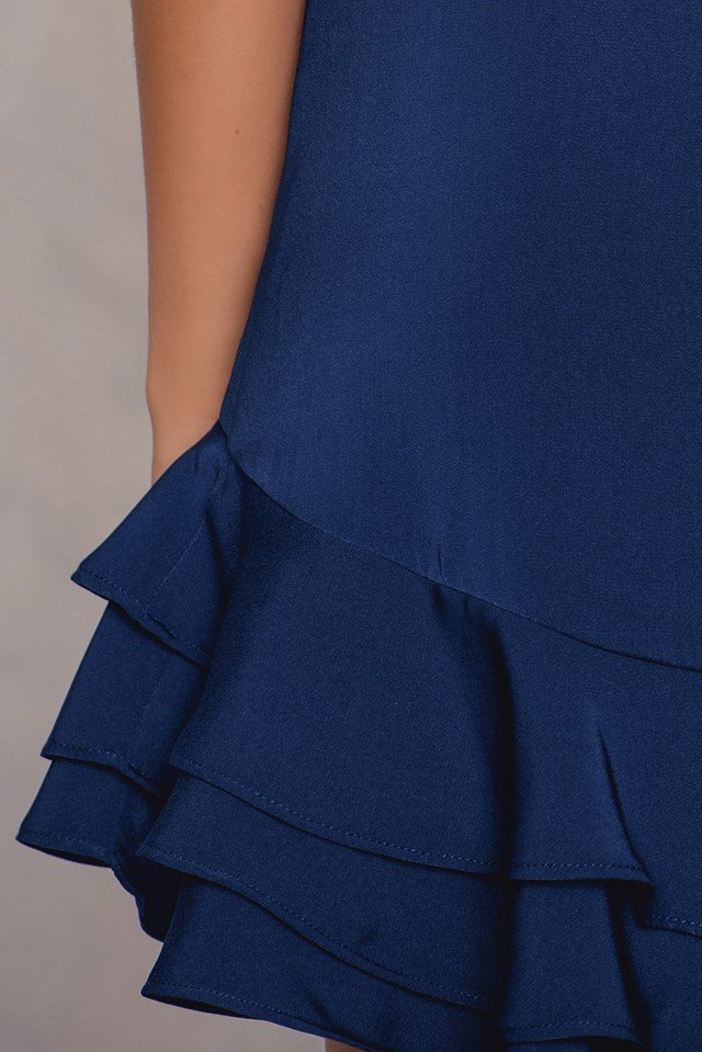 Waldorf Dress Navy
