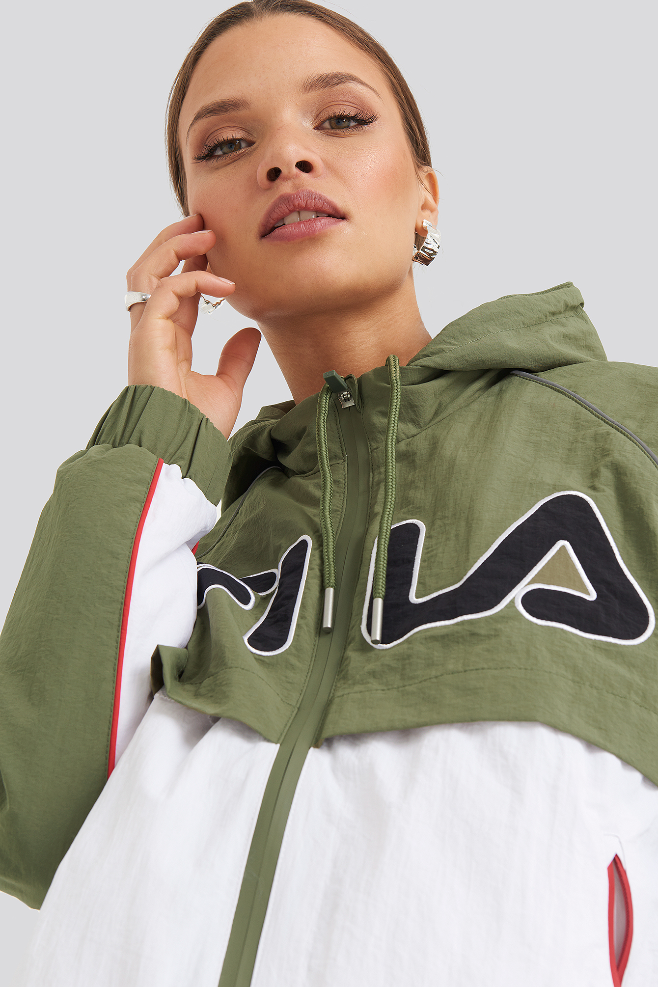 fila -  Ummi Windbreaker - Green