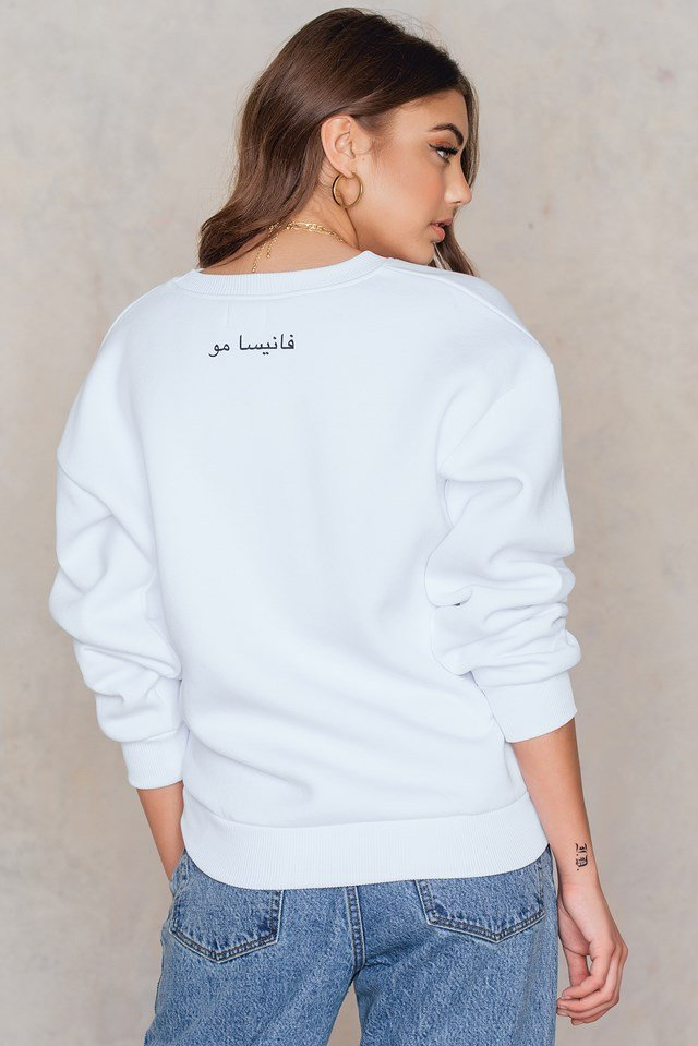 Crewneck Sweater White