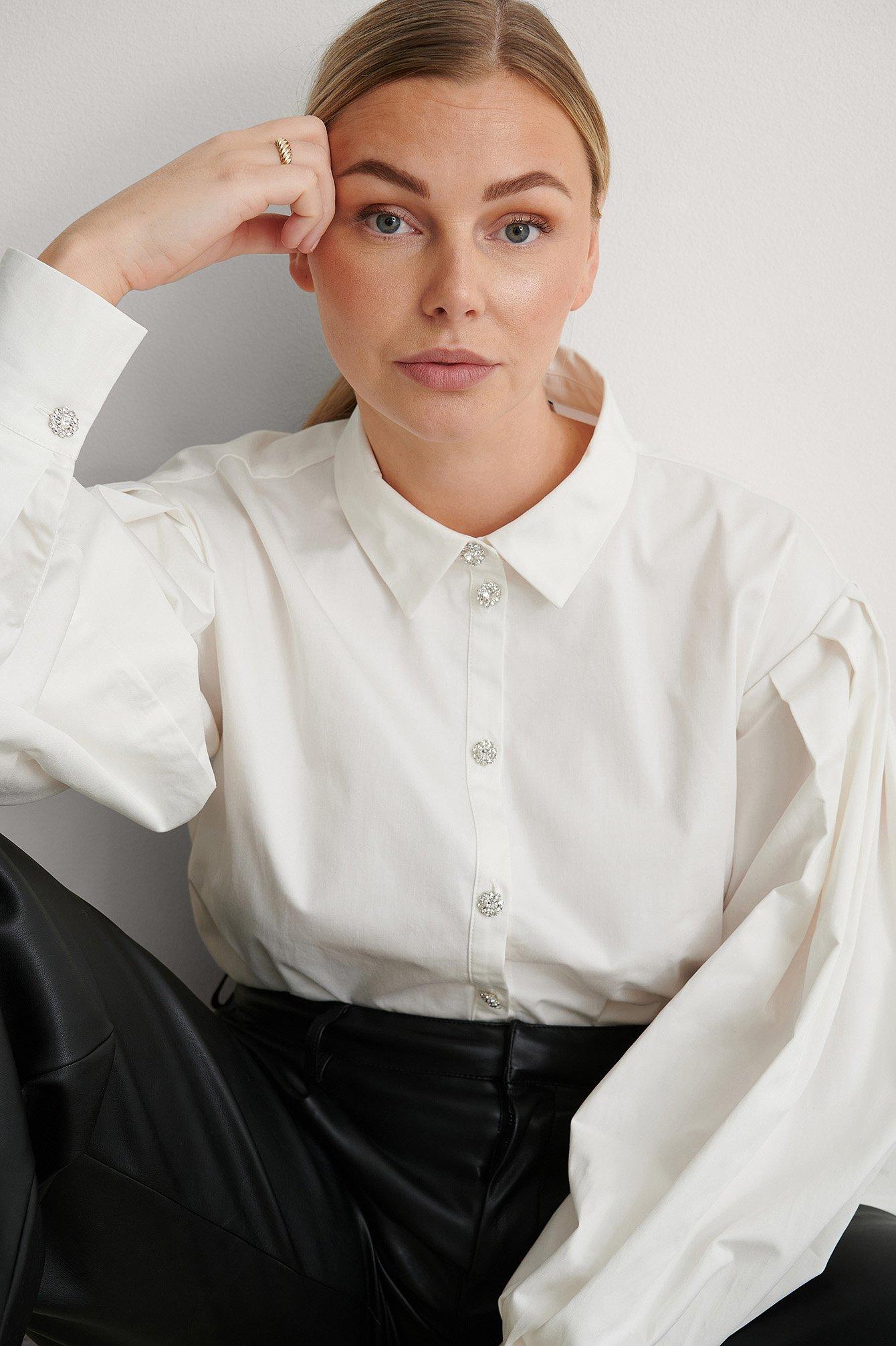 NA-KD Trend Skjorte - White