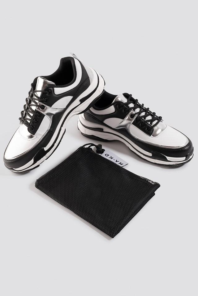 Aero Sneaker Black/White