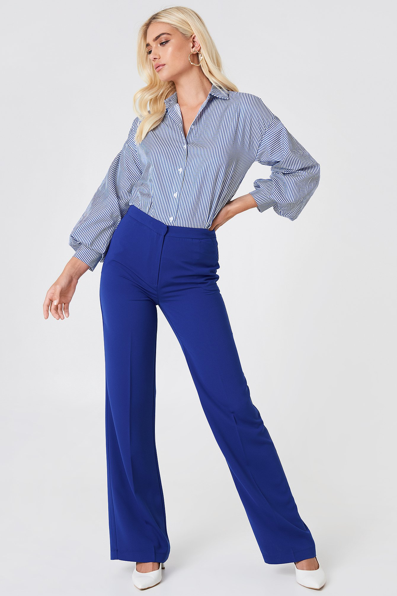 Wide Suit Pants NA-KD.COM