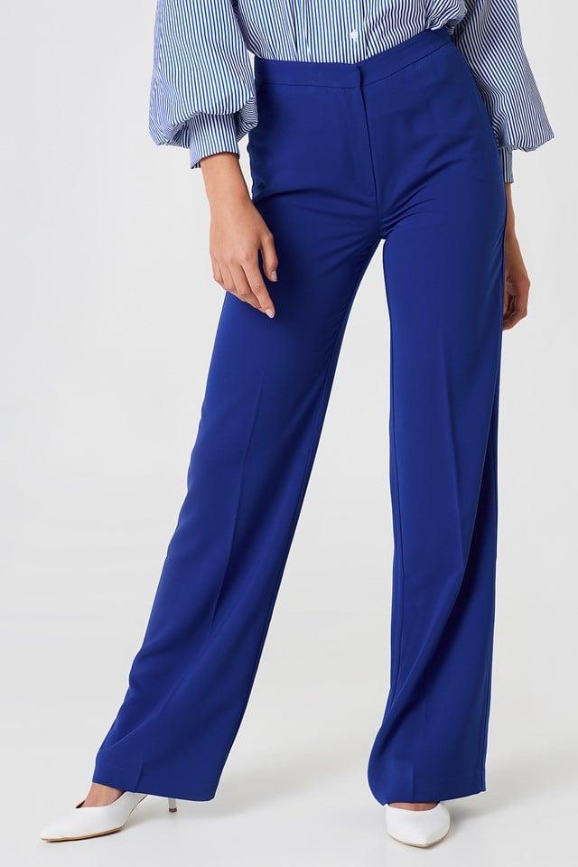 Wide Suit Pants NA-KD.COM