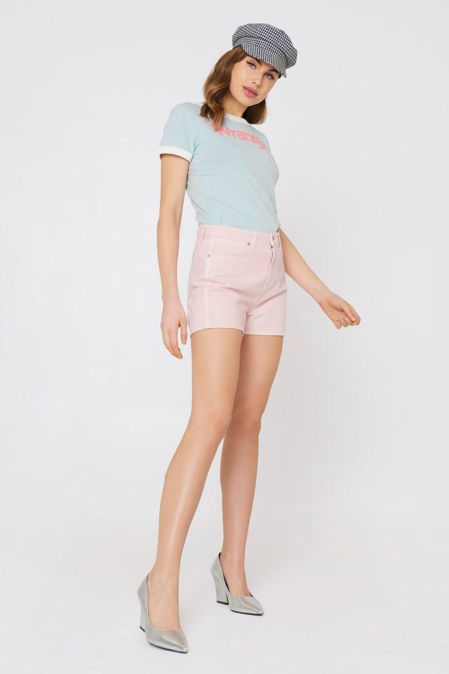 Retro Boy Shorts Pretty Pink
