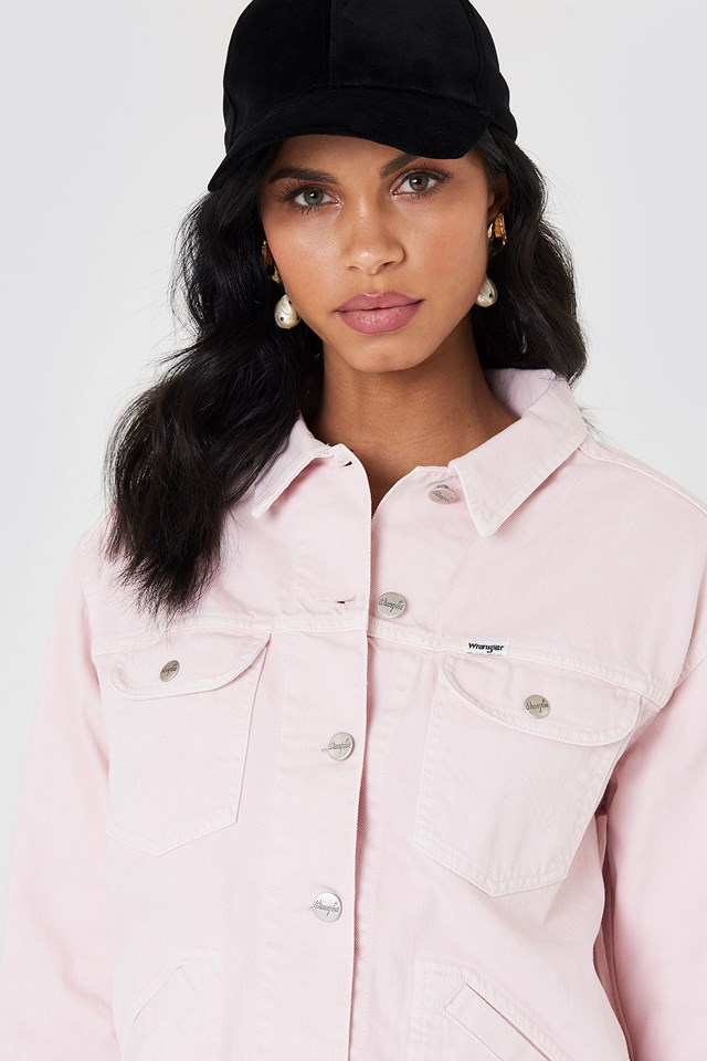 Retro Jacket Pretty Pink