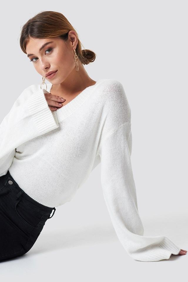 Erin Sweater White