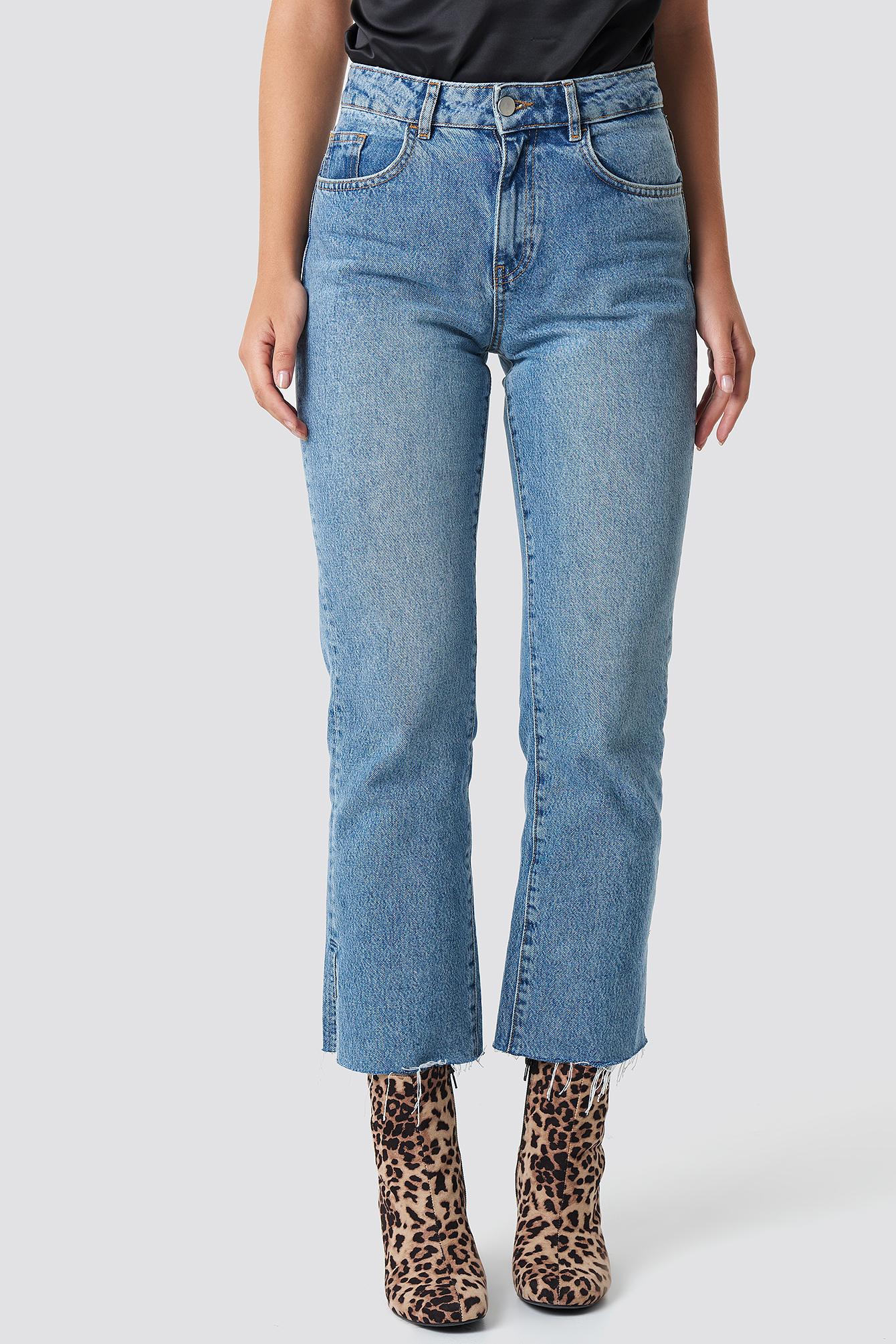 Joey Straight Jeans NA-KD.COM
