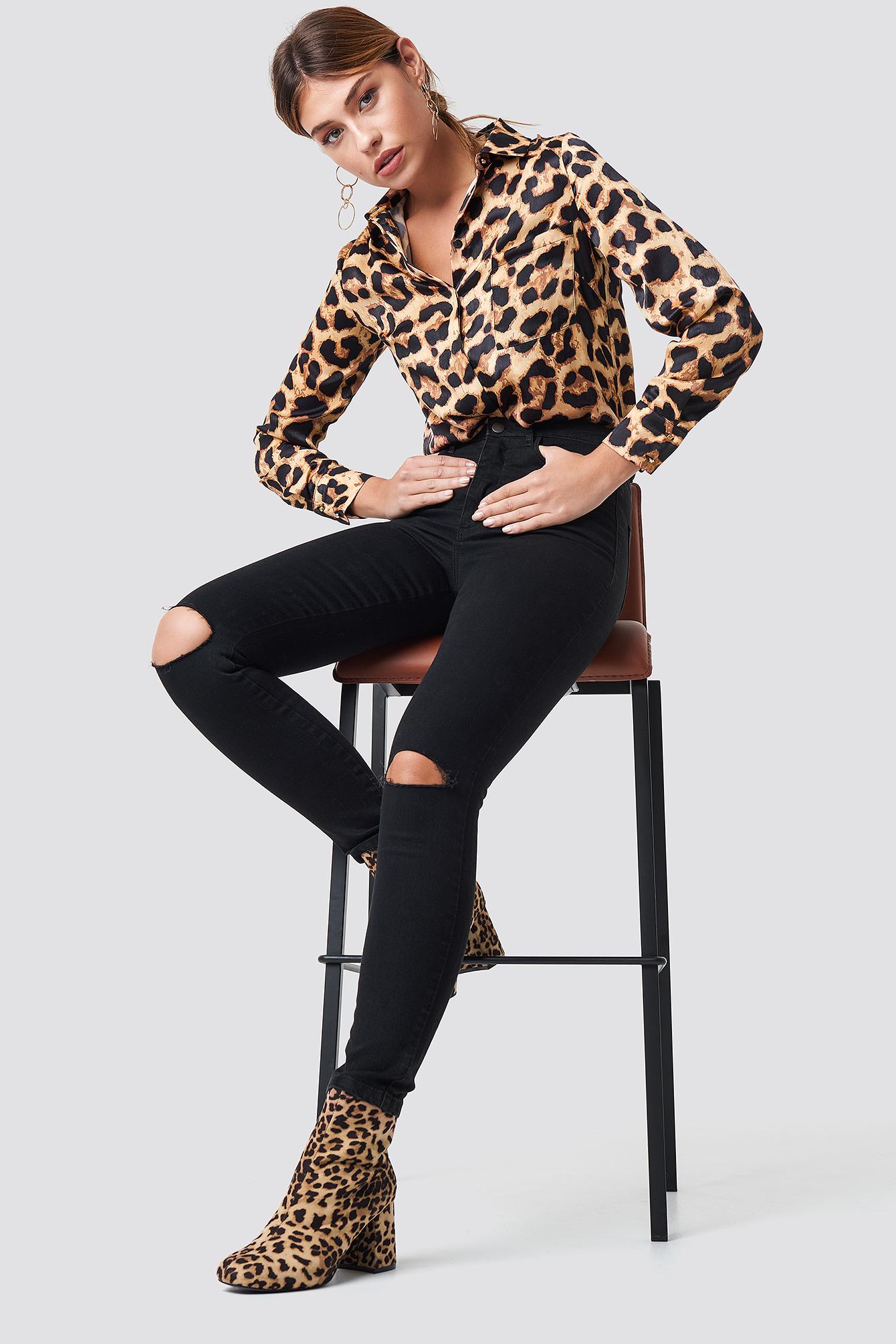 Kathleen Slim Fit Jeans NA-KD.COM