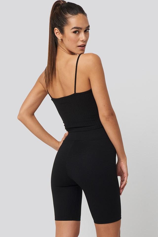 Kim Biker Shorts Black