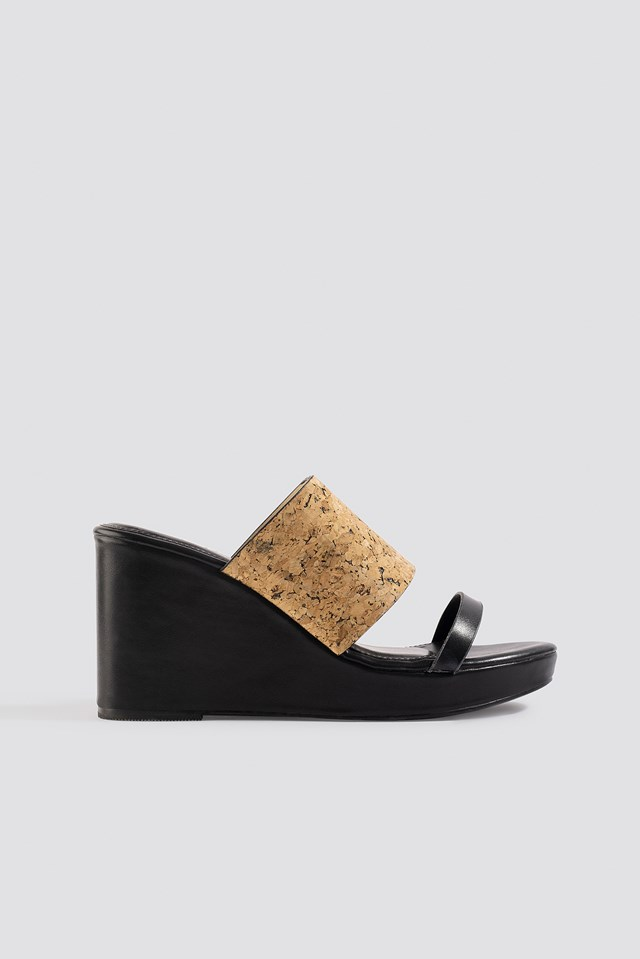 Kristin Cork Wedge XLE the Label