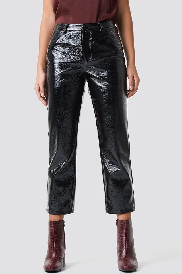 Lauren Cropped Pants Black