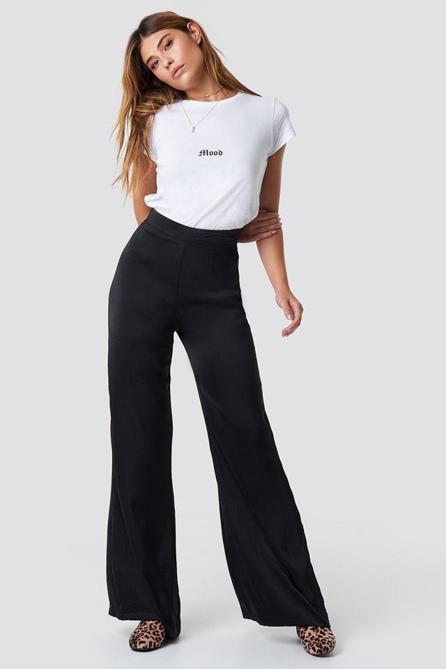 Spodnie Meredith Palazzo Black