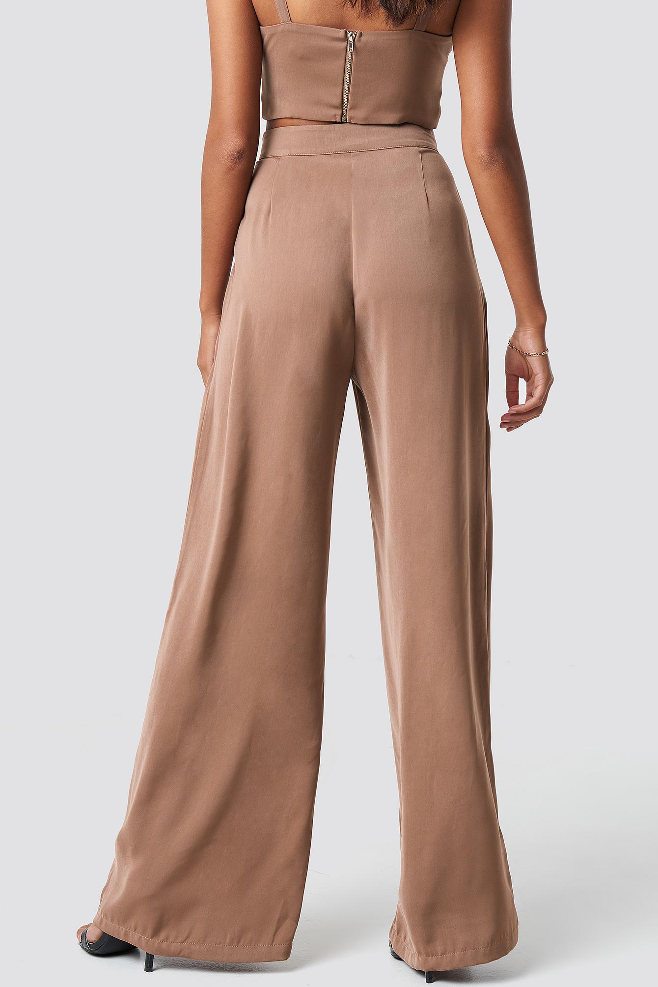 Ally Wide Pants NA-KD.COM