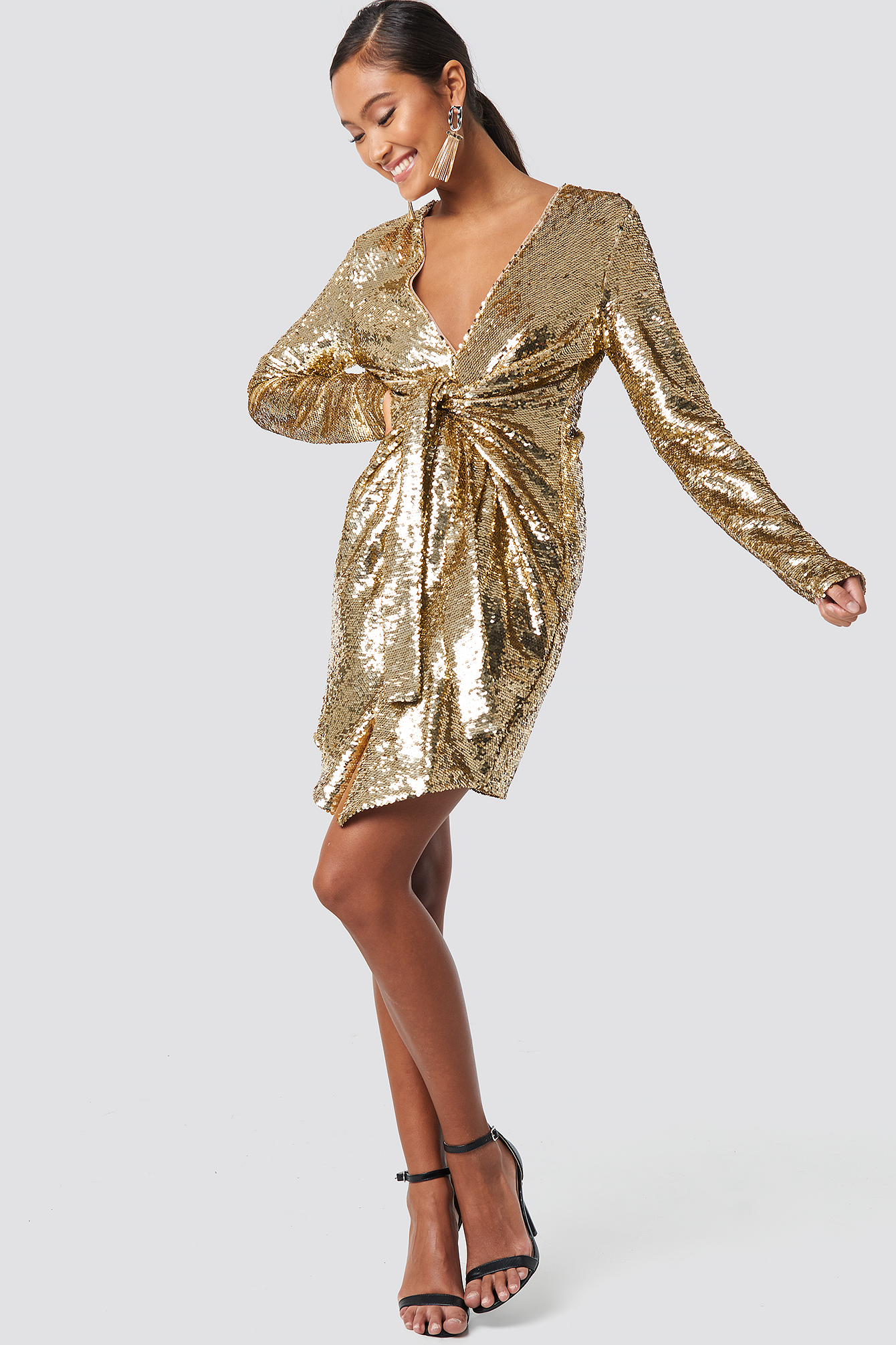 Alyssa Sequin Dress NA-KD.COM