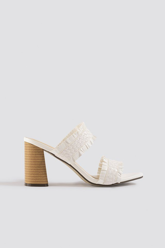 Parr Fringe Mules XLE the Label